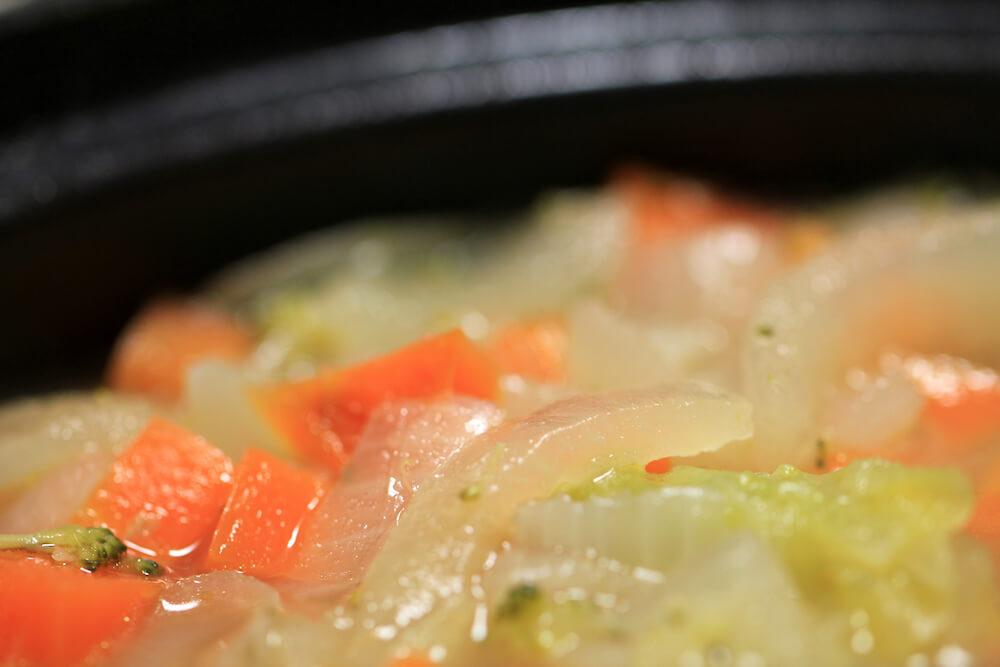 鳥胸肉のスープ