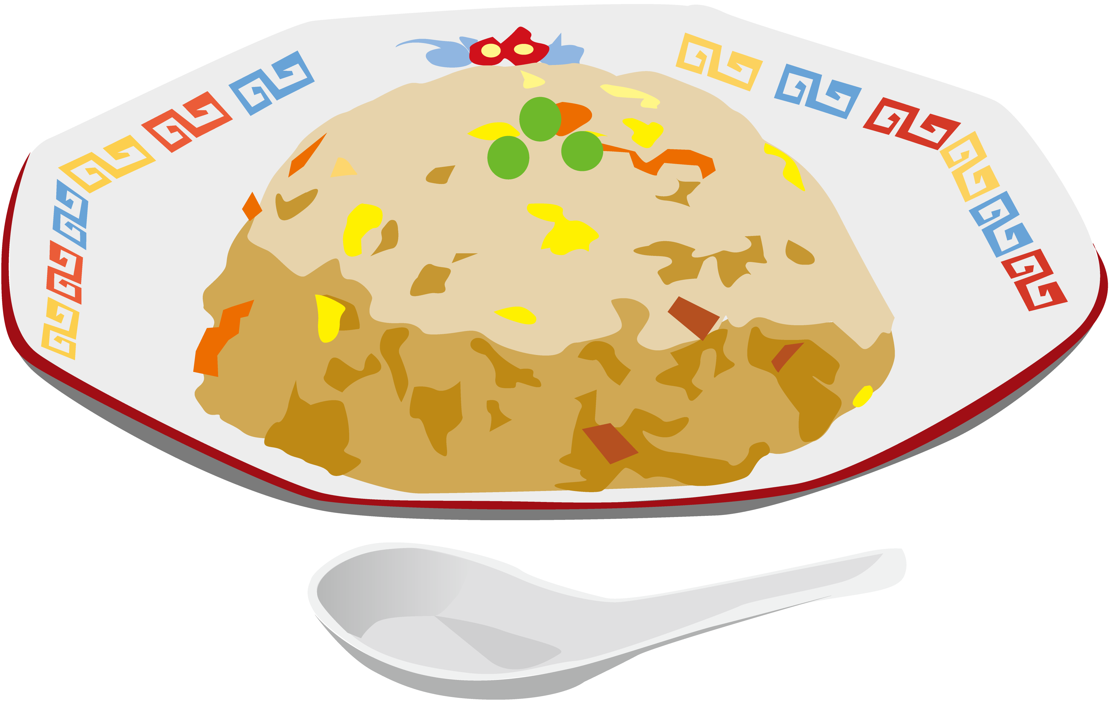 角煮と初心者に優しい炒飯