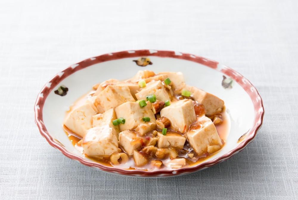 炒飯と麻婆豆腐