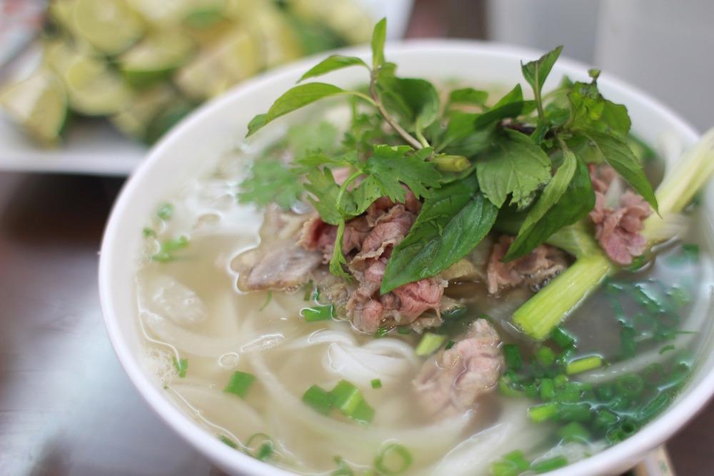 ベトナム系で、体内から暖まろう